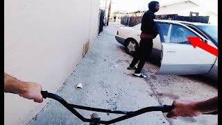 Video RIDING BMX IN LB COMPTON GANG ZONES 2 (BMX IN THE HOOD) MP3, 3GP, MP4, WEBM, AVI, FLV Januari 2019