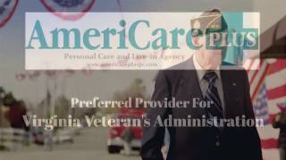 AmeriCare Plus is Proud to be a Preferred Provider for the Veteran's Administration of Virginia