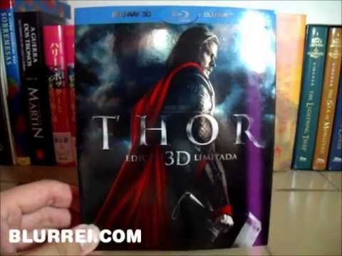 Thor Blu-Ray 2D + 3D