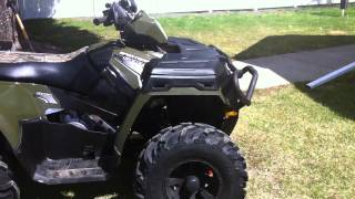 1. 2011 Polaris Sportsman 500 HO