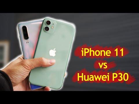 iPhone 11 vs Huawei P30 Camera Comparison