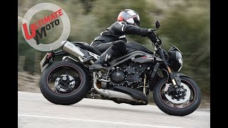 9. 2018 Triumph Speed Triple RS First Ride Review | Ultimate Motorcycling