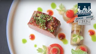 Video 2 Michelin star chef Rolf Fliegauf creates lamb from Romandie with peppers and aubergine MP3, 3GP, MP4, WEBM, AVI, FLV Agustus 2019