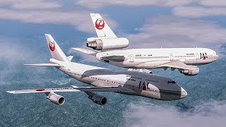 Video Near Collision Over Japan | Boeing 747 Almost Crash with a DC-10 | Japan Airlines Mid-Air Incident MP3, 3GP, MP4, WEBM, AVI, FLV November 2018