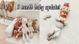 5 month baby update + taco bell date!! by Aspyn + Parker