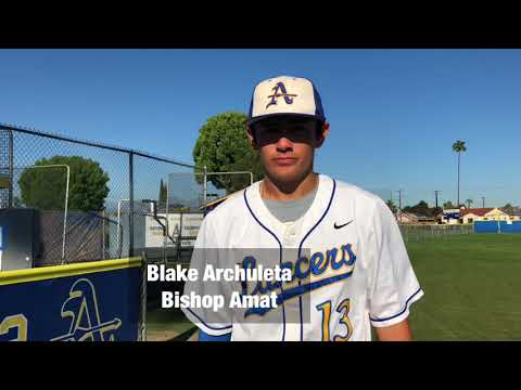 Baseball: Bishop Amat 7, St. Paul 3