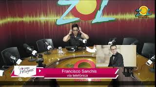 Francisco Sanchis comenta principales temas de la farándula 13-12-2017