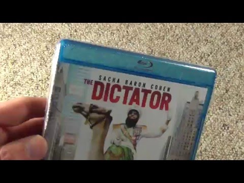 The Dictator Sacha Baron Cohen Blu-Ray Unboxing