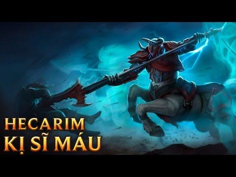Hecarim Kị Sĩ Máu - Blood Knight Hecarim
