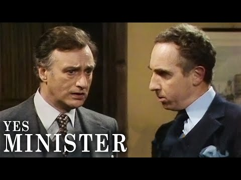 Hushing Up A Mistake   Yes, Minister   BBC Comedy Greats