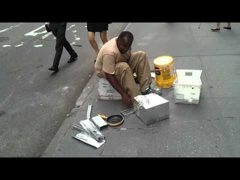 musicisti di strada