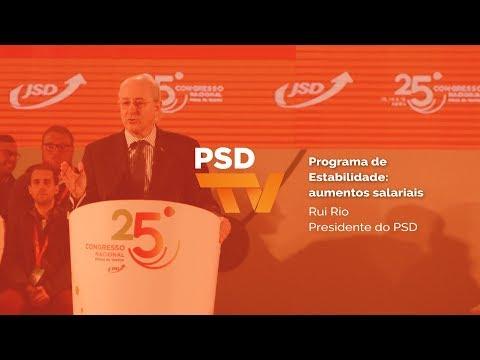 Programa de Estabilidade: aumentos salariais