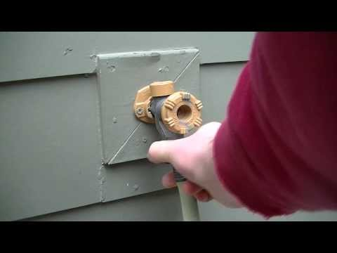 How to keep your outdoor pipes from freezing.
