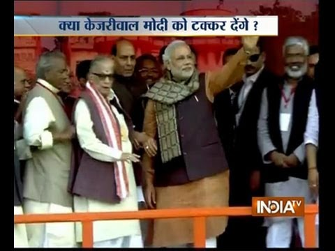 Faisla kursi ka 16/3/2014: Will kejriwal contest against Modi from Varanasi