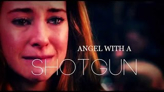 Tris & Tobias || Angel with a shotgun