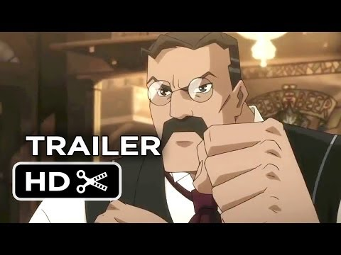War of the Worlds Goliath TRAILER 1 (2014) - Animated Sci-Fi Movie HD