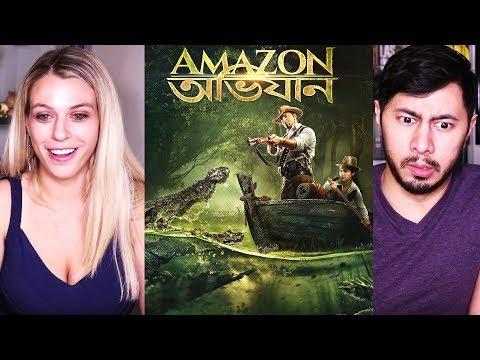 Download AMAZON OBHIJAAN | আমাজন অভিযান | Trailer Reaction | w/ Kaitlyn Isham HD Mp4 3GP Video and MP3