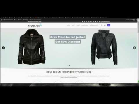 Best eCommerce and WooCommerce Theme ATOMSTORE