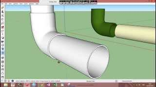 Video SketchUp PVC Elbow Fitting MP3, 3GP, MP4, WEBM, AVI, FLV Desember 2017