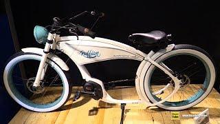 10. 2019 Ruff Cycles The Ruffian Cruiser Electric Bike - Walkaround - 2018 Eurobike