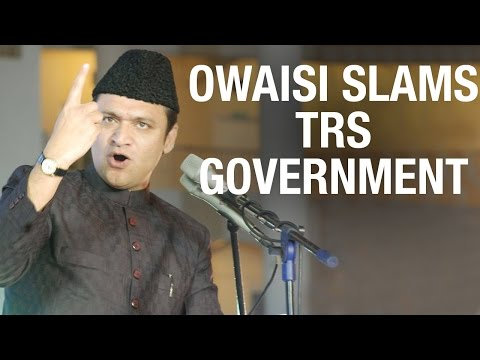 Akbaruddin Owaisi slams on TRS government  T Assembly Sessions