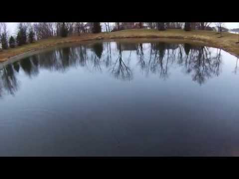 Failed Central Ohio Winter Pond Fishing Attempt