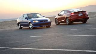 2000 Honda Civic Si vs. 2012 Honda Civic Si EDMUNDS VIDEO http://www.Edmunds.com is a car-shopping web site driven to make car buying easy. We post at least ...