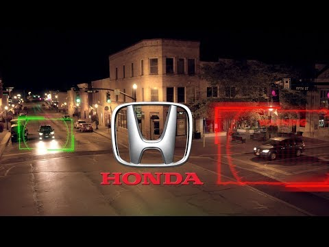 "Honda ""Smart Intersection"" Technology For Vehicle-to-everything (V2X) Communication"
