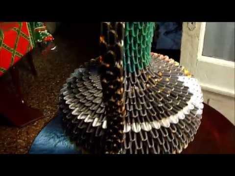 Origami 3D - Jarron