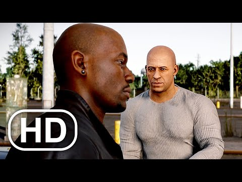 FAST & FURIOUS CROSSROADS Full Movie All Cutscenes (2020) Vin Diesel, Tyrese Gibson Action HD