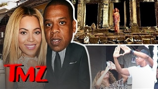 Jay Z and Beyonce vacation just like we do!