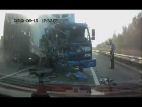 Подборка аварий и ДТП за Сентябрь 2012/6 Car Crash compilation September