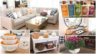 Decorate With Me For Fall - Fall Decor Ideas + Fall Coffee Station & Fall Haul
