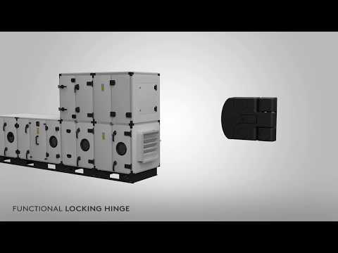 Универсальный замок для панелей отопления и кондиционеров Essentra- Mesan -712