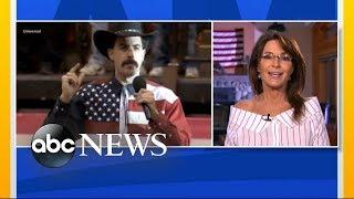 Video Sarah Palin responds to Sacha Baron Cohen prank MP3, 3GP, MP4, WEBM, AVI, FLV Juli 2018