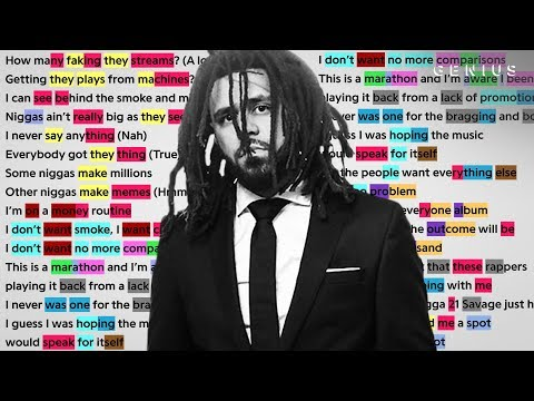 """J. Cole's Verse On 21 Savage's """"a lot"""" 