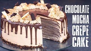 Chocolate Mocha Crepe Cake