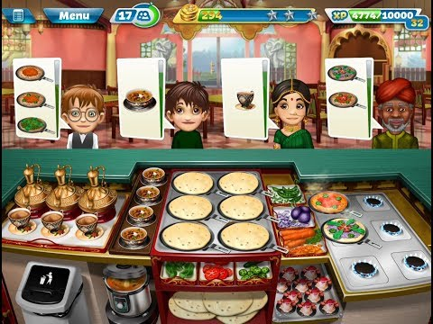 Cooking Fever Indian Diner Level 40 (3 Stars)