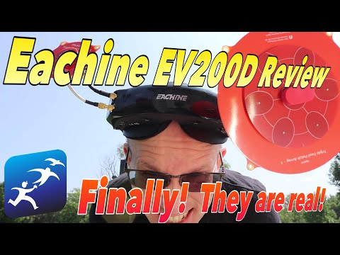 Eachine EV200D Goggles Review, Quadversity lets you do what?