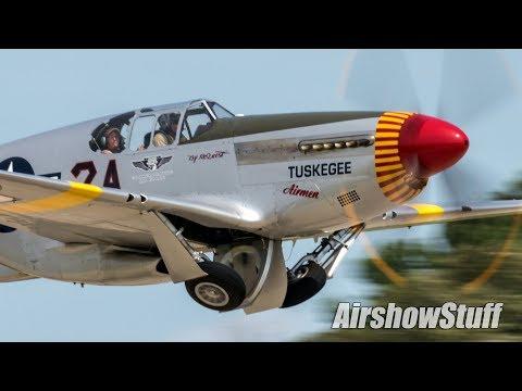 Various military aircraft and warbirds...