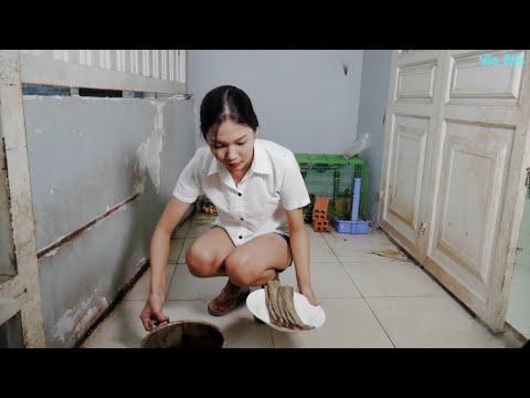 Cùng Vie Girl Nướng Cá Khô Ăn Ngon Lành