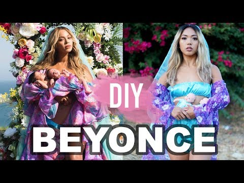 DIY BEYONCE TWIN REVEAL HALLOWEEN COSTUME! | Nava Rose