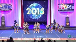 The Stingray All Stars Orange Large Senior Semis 2015