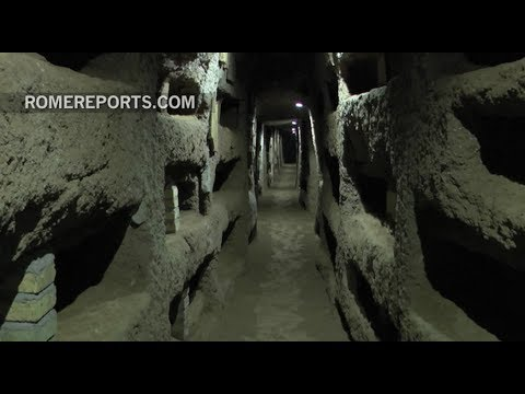History Comes To Life Through Rome's Largest Catacombs Of Domitilla