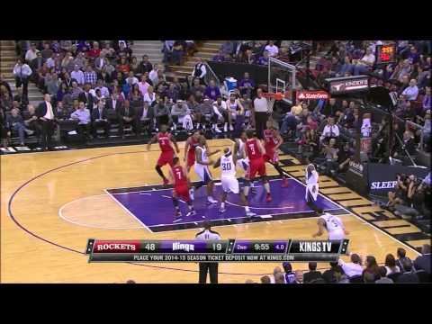 Jordan Hamilton Highlights From His Houston Rockets Debut