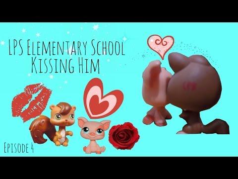 LPS Elementary School - Kissing Him -Episode 4