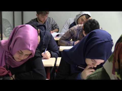 Akademi Lise'de YGS deneme sınavı heyecanı