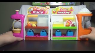 Shopkins Spin Mix Bakery and Easy Squeezy Fruit and Veg Stand Grocery Toy SetsCheck out http://www.thegamecapital.com for all your toy needs!Amazon store: http://www.amazon.com/shops/TheGameCa...eBay Store: http://stores.ebay.com/The-Game-CapitalFollow me on Facebook: https://www.facebook.com/penguinchick86Follow me on Twitter @penguin_chick86
