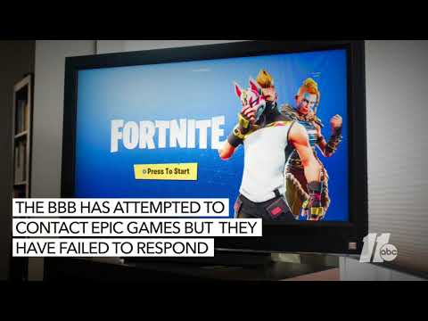 Epic Games Fornite: Cary Video Game Company Gets 'F' Rating From BBB