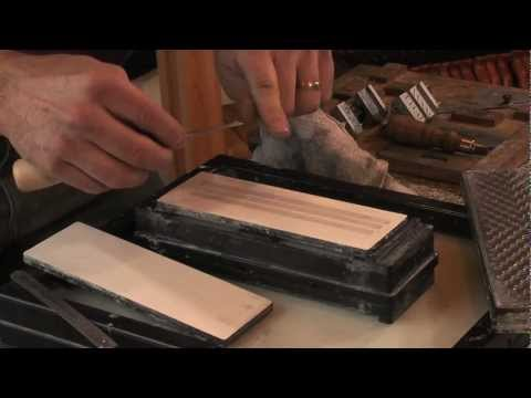 Sharpening the Fishtail and Corner Chisels